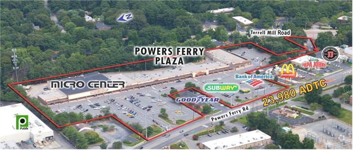 Powers Ferry Plaza- 1275 Powers Ferry Rd.