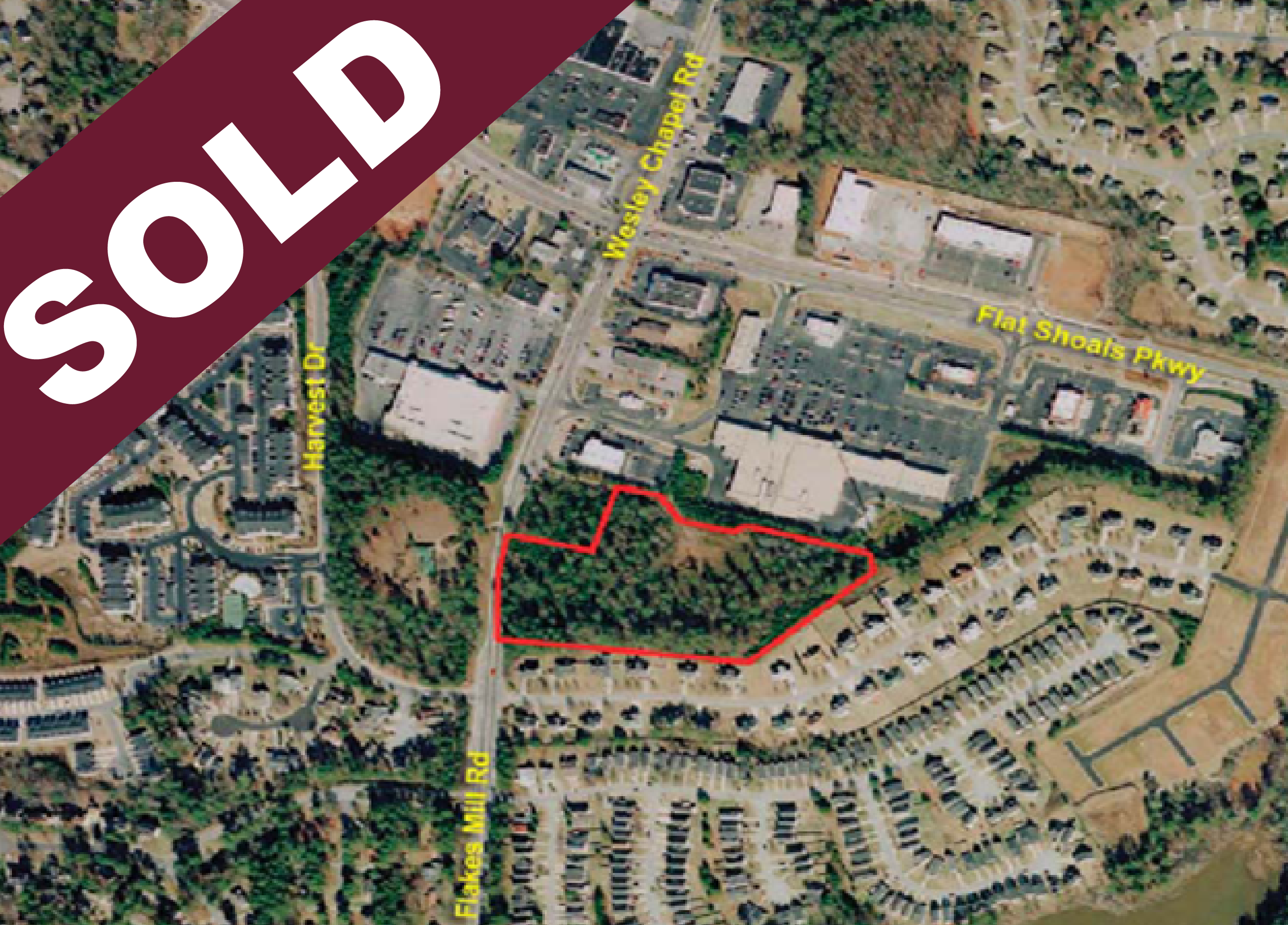 SOLD: 3700 Flakes Mill Road