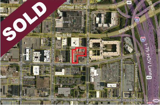 SOLD: 120 Piedmont Ave and J. W. Dobbs Atlanta, GA 30303