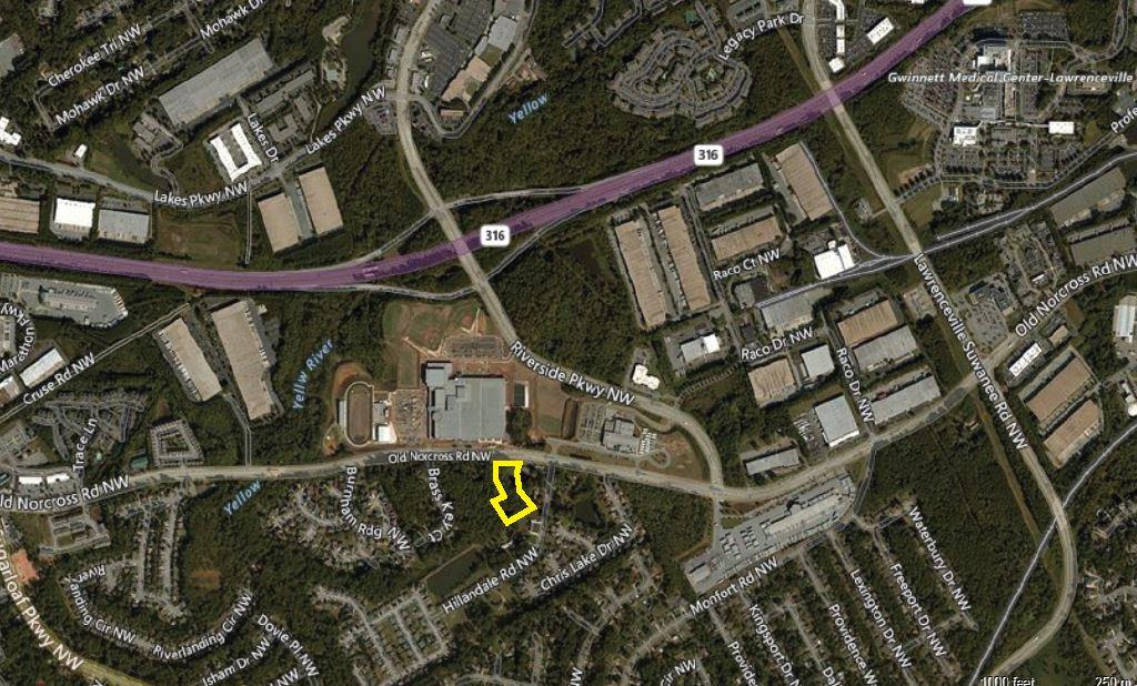 1298 Old Norcross Road, Lawrenceville, GA  30046
