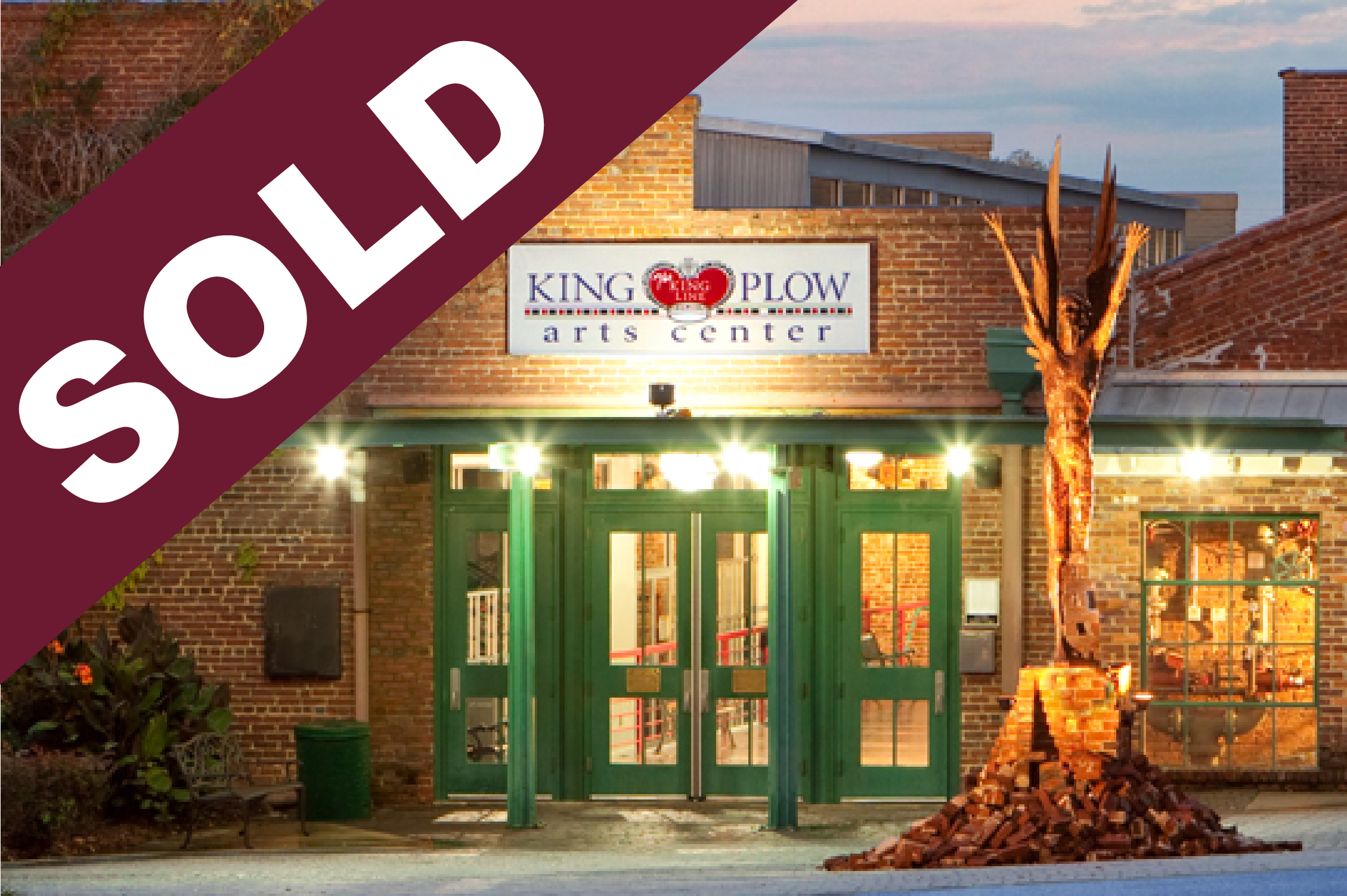 SOLD: King Plow Arts Center - 949 W. Marietta Street NW, Suite X-101, Atlanta, GA  30318