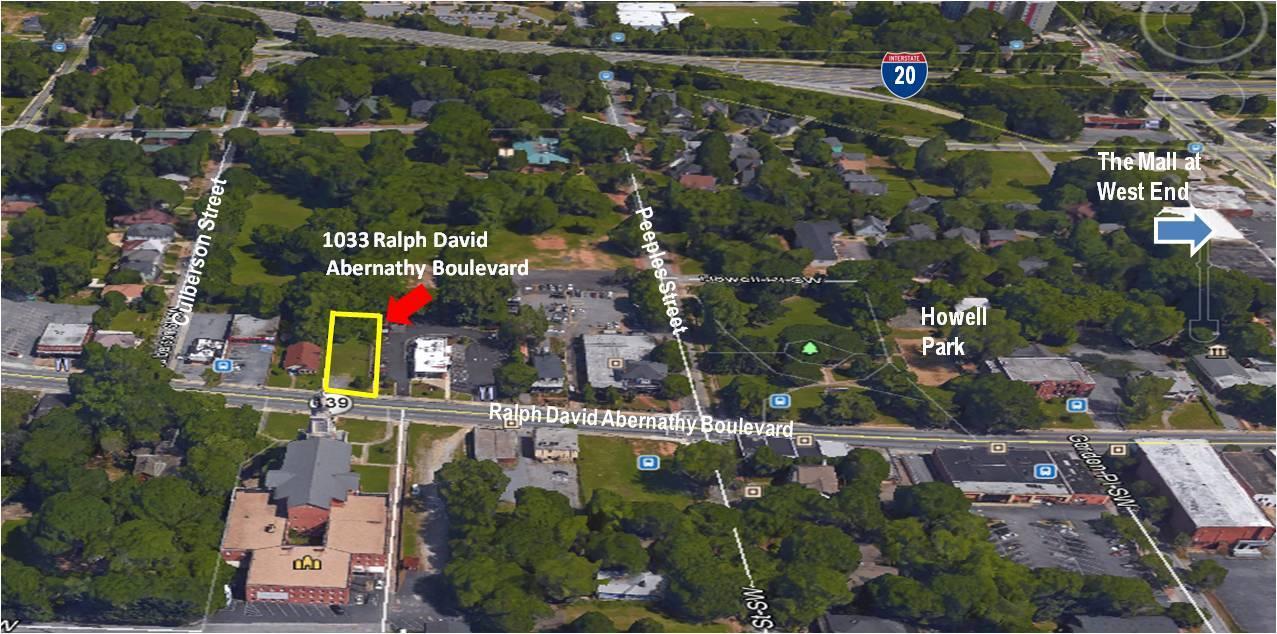 1033 Ralph David Abernathy Blvd. SW Atlanta, GA 30310