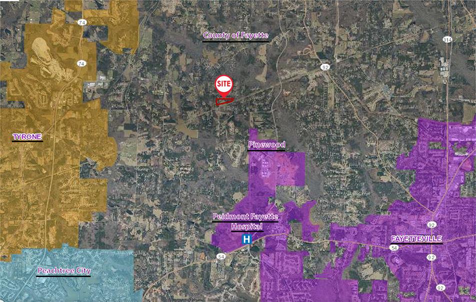 191 & 207 Sams Drive Fayetteville, GA 30214