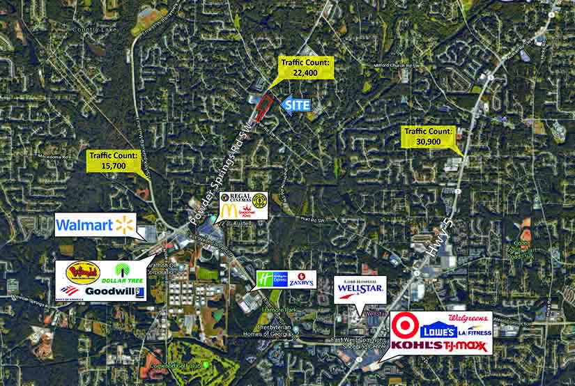 Powder Springs Road SW Marietta, GA 30064
