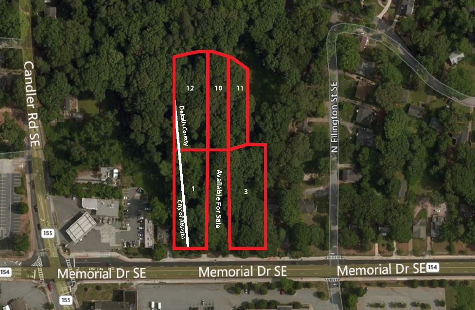 2946, 2930 & 2934 Memorial Drive SE and  2435, 2431 & 2421 Tupelo St.  Atlanta, GA  30317