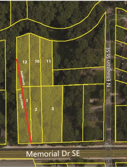 2.68± Acres on Memorial Drive, Atlanta, GA  30317