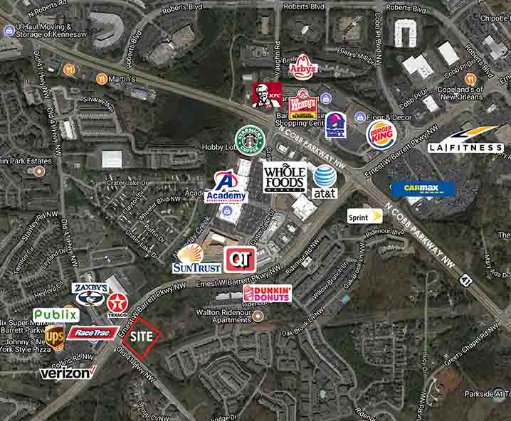 Old 41 Hwy. & Ernest W. Barrett Pkwy., Kennesaw, GA  30152