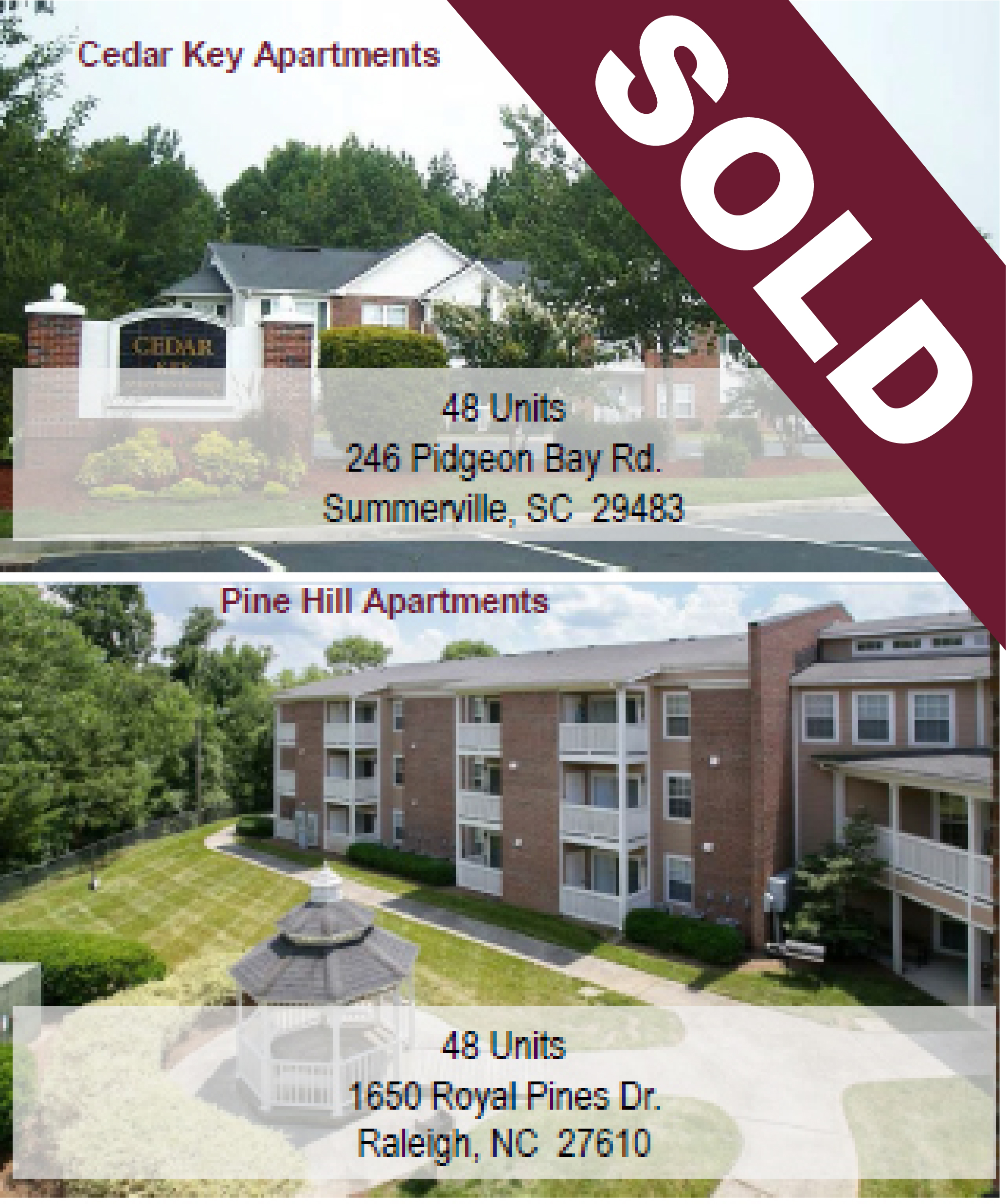 SOLD - Two Community Multi-Family Affordable Housing Portfolio